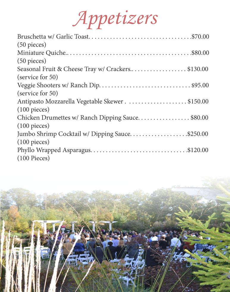 Sandy Pines Pavilion Menu 2017 - 03b